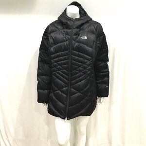 The North Face Womans Hooded Puffer Jacket